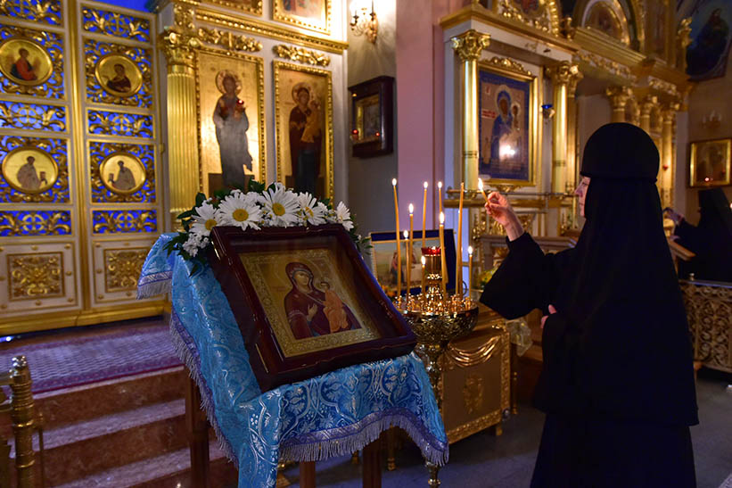 Patronal feast of the Tikhvin Icon of the Mother of God