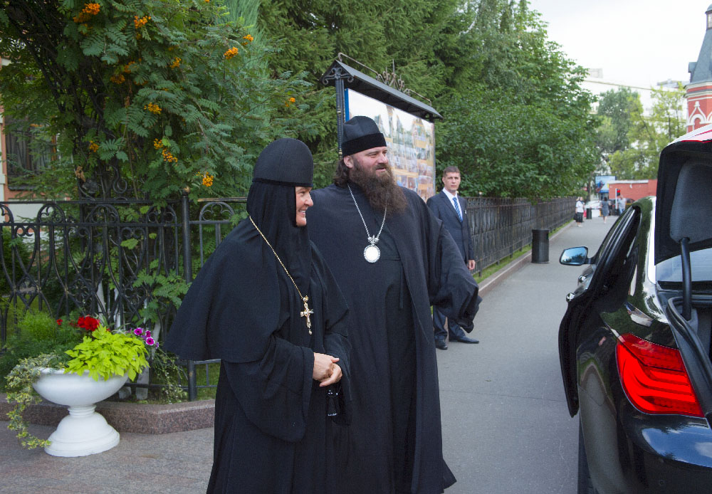 Archbishop Georgy of Wroclaw and Szczecin visited the Pokrovsky Stauropegial Convent