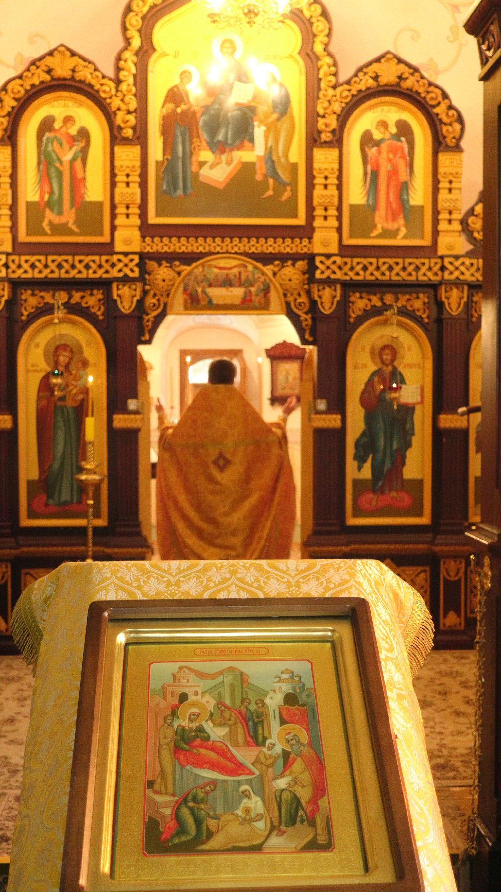 The Nativity of the Prophet John the Baptist at the Compound in Markovo