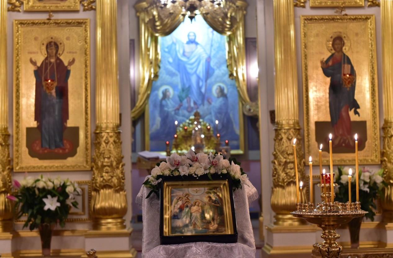 Праздник Святого Богоявления в Покровском монастыре