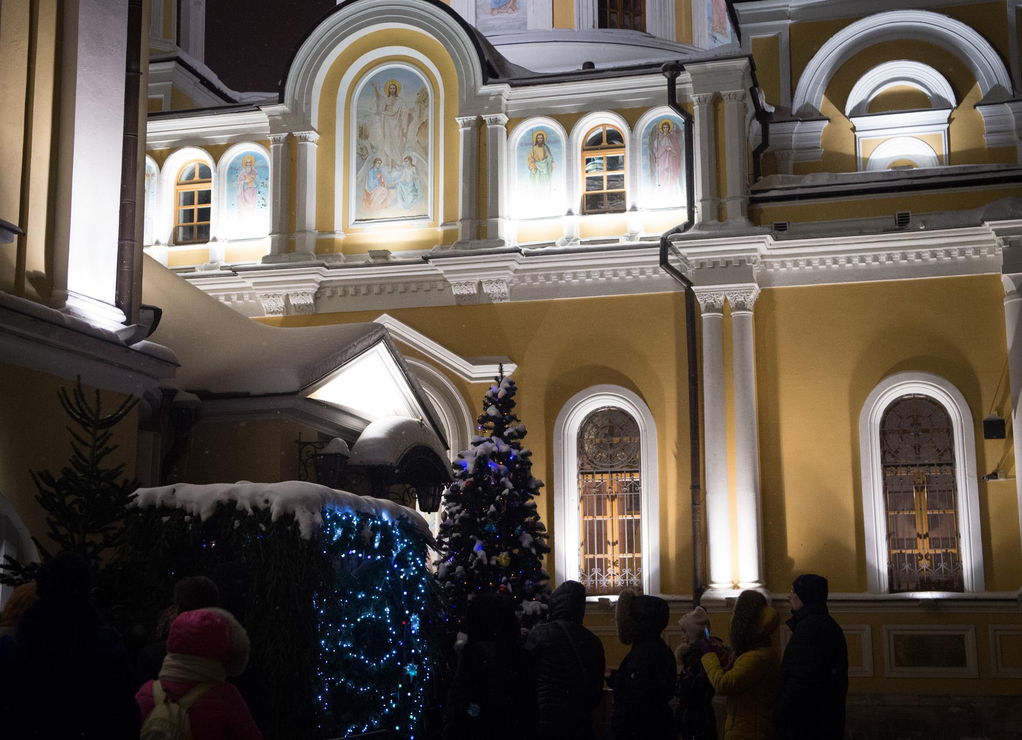 Рождество Христово в Покровской обители