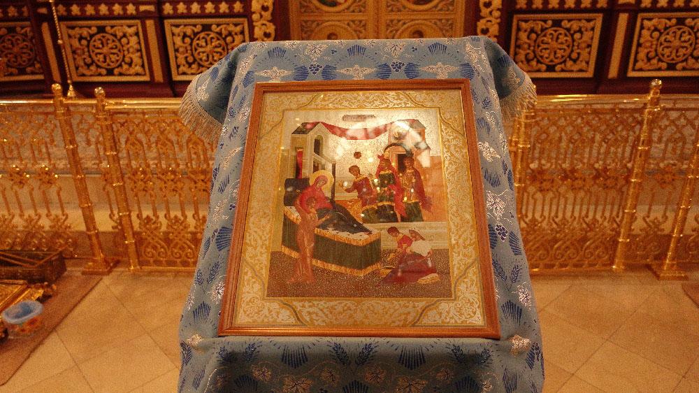 Рождество Пресвятой Богородицы в селе Марково