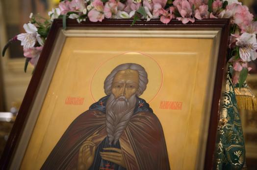 Престольный Праздник обители в день памяти преподобного Илариона Великого