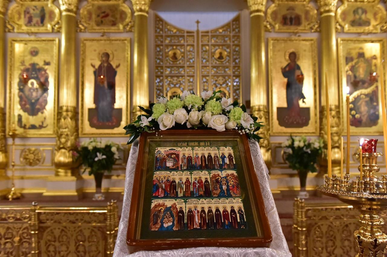 Навечерие Богоявления в Покровском женском монастыре