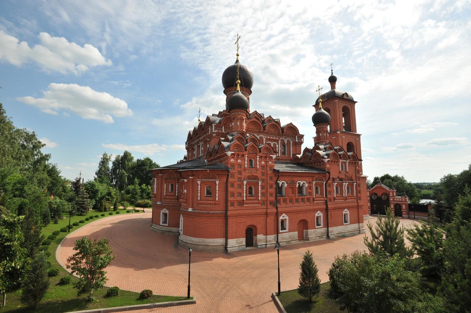 Подворье Покровского монастыря в с. Марково