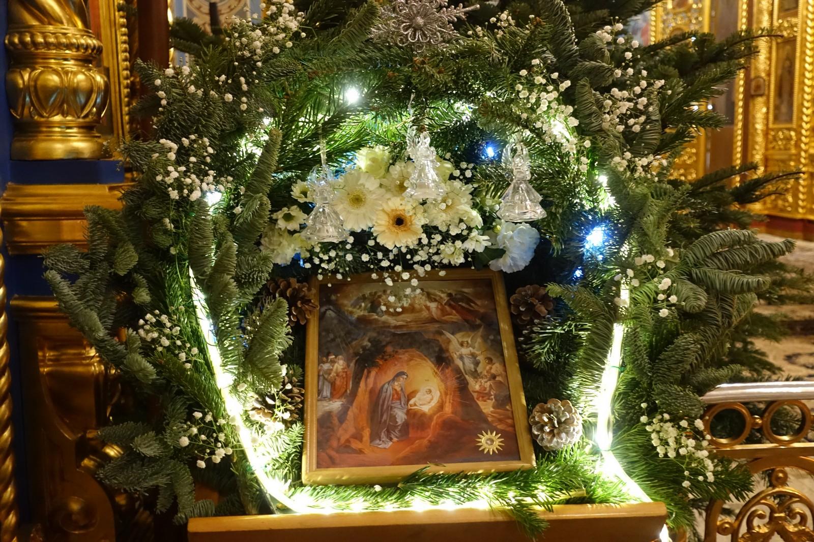 Рождество Христово на подворье Покровского монастыря в Троице-Лыково