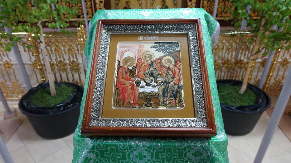 День Святой Троицы на подворье в Марково
