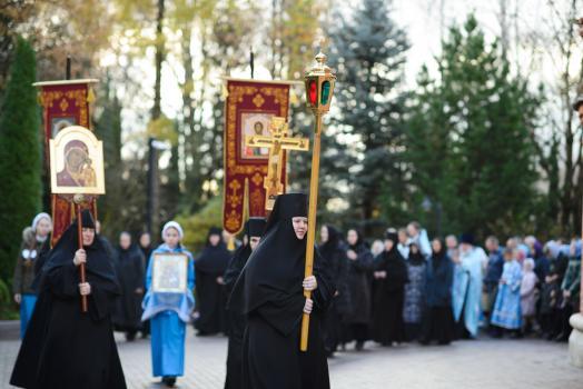 Престольный Праздник на подворье Покровского женского монастыря в селе Марково