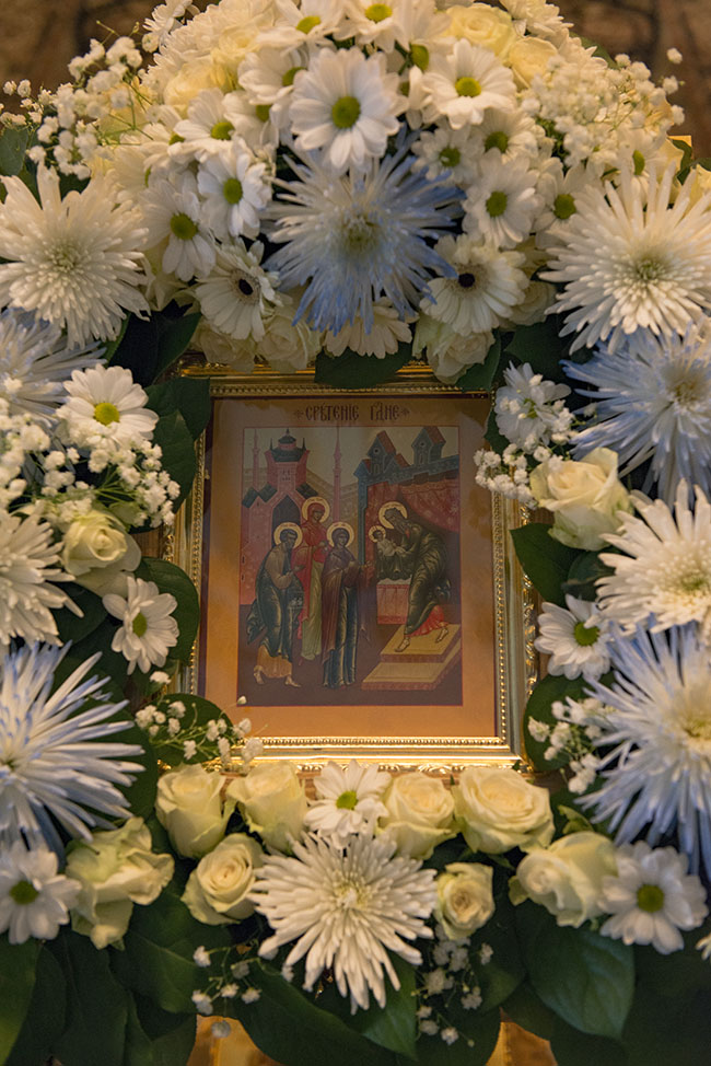 Сретение Господне. Всенощное бдение в Троице - Лыково