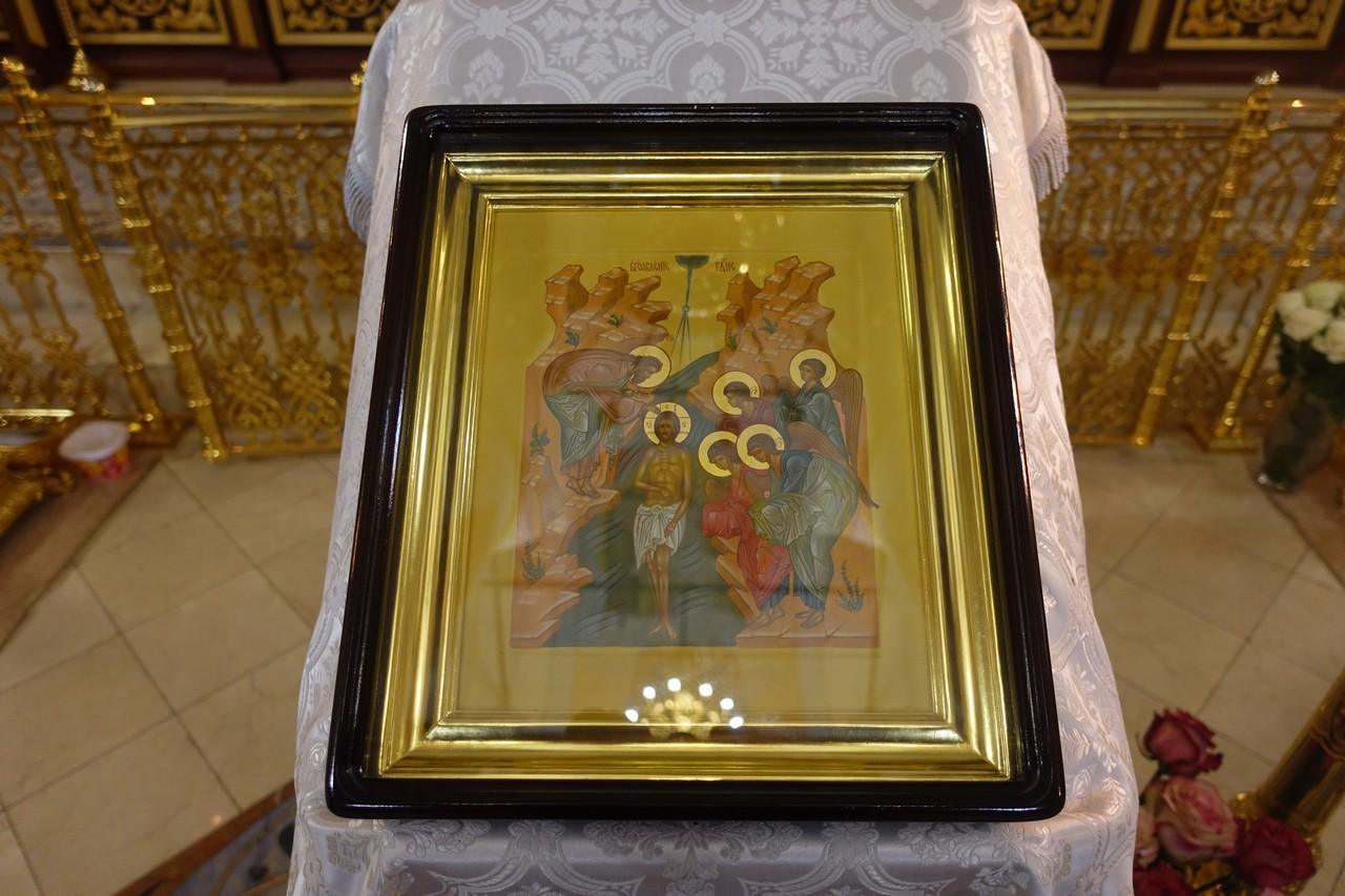 Праздник Крещения Господня на подворье монастыря в селе Марково