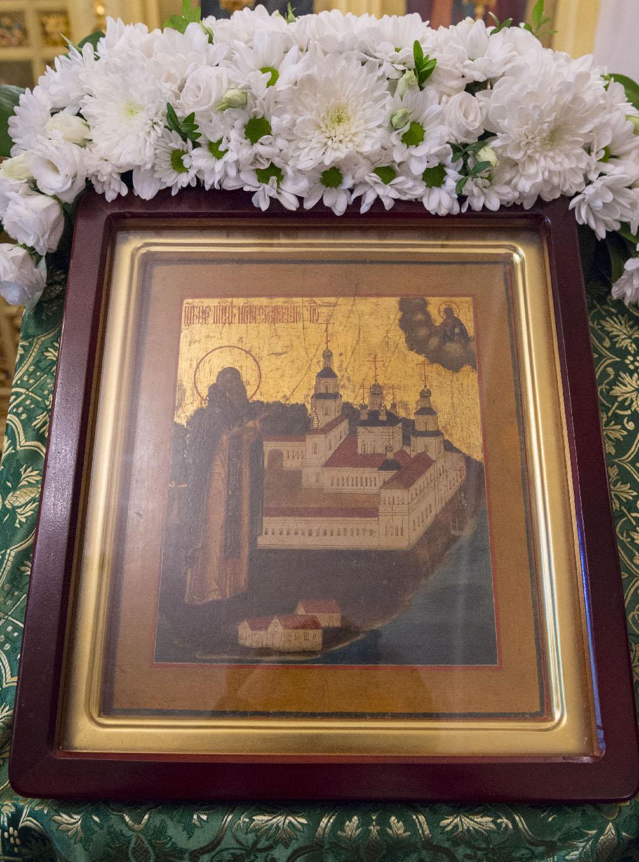 День обретения мощей преподобного Нила Столобенского. Божественная литургия