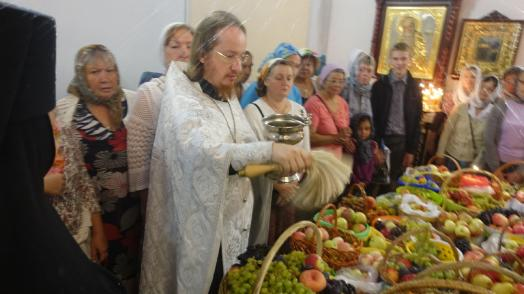 Feast of the Transfiguration of the Lord in the village of Markovo