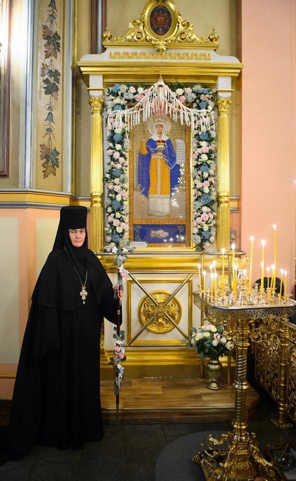 День памяти святой царицы Феофании - день тезоименитства настоятельницы Покровского монастыря игумении Феофании