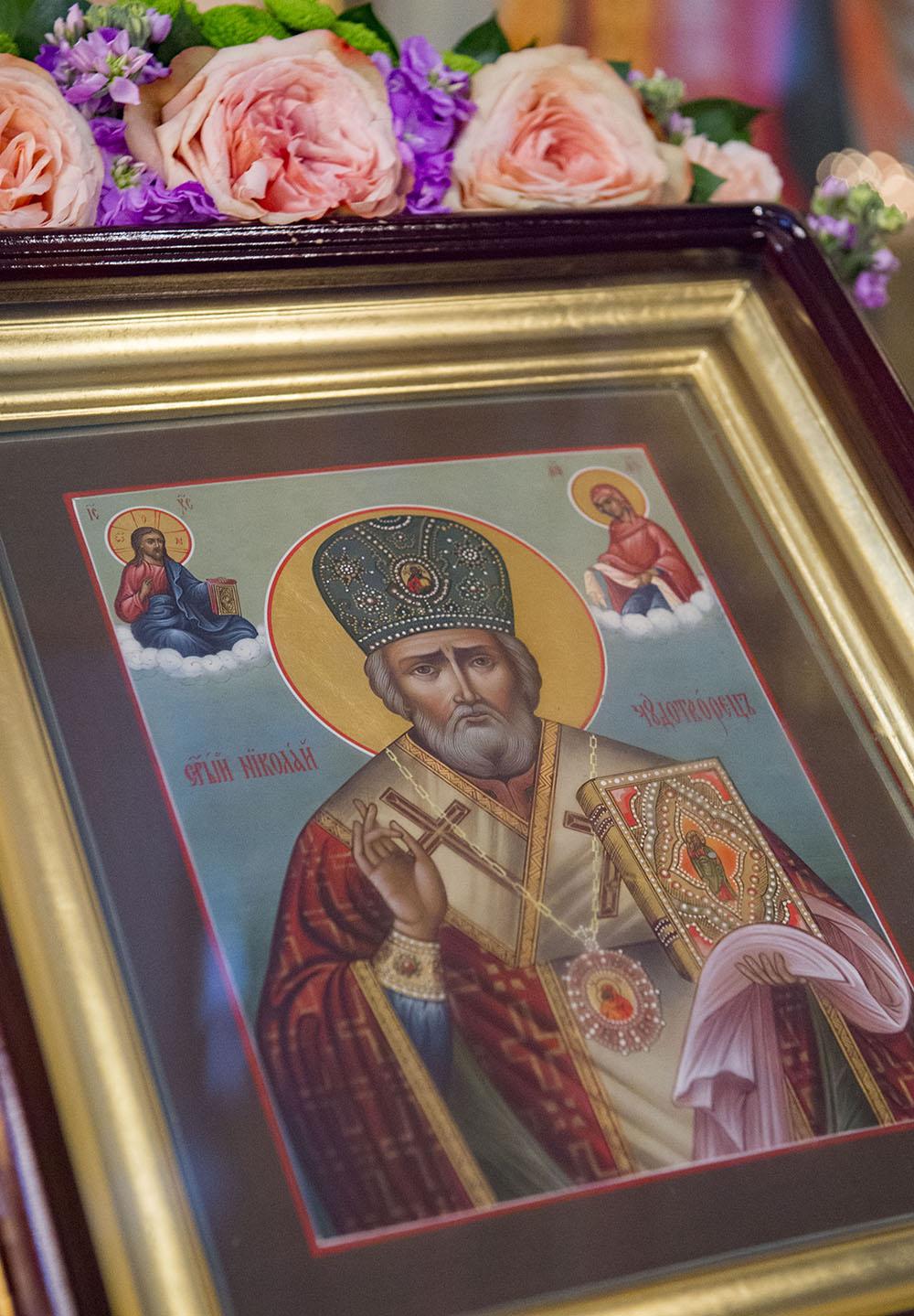 Престольный праздник святителя Николая в Покровском монастыре