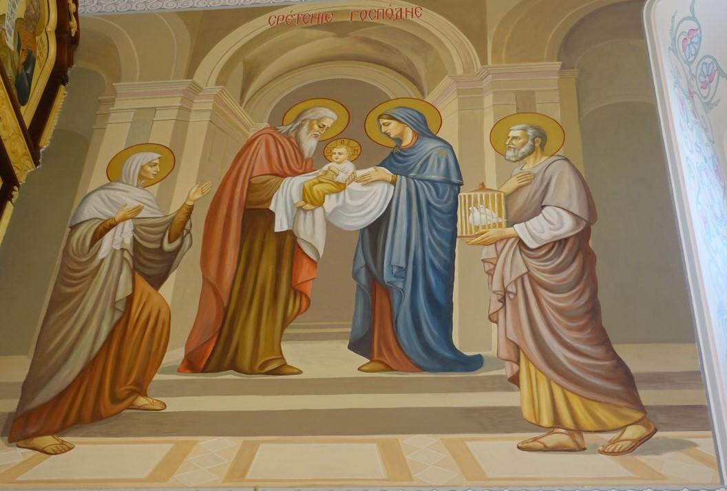 Праздник Сретения Господня на подворье Покровского монастыря в селе Марково