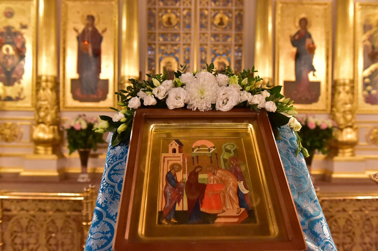 Праздник Сретения Господня в Покровском женском монастыре