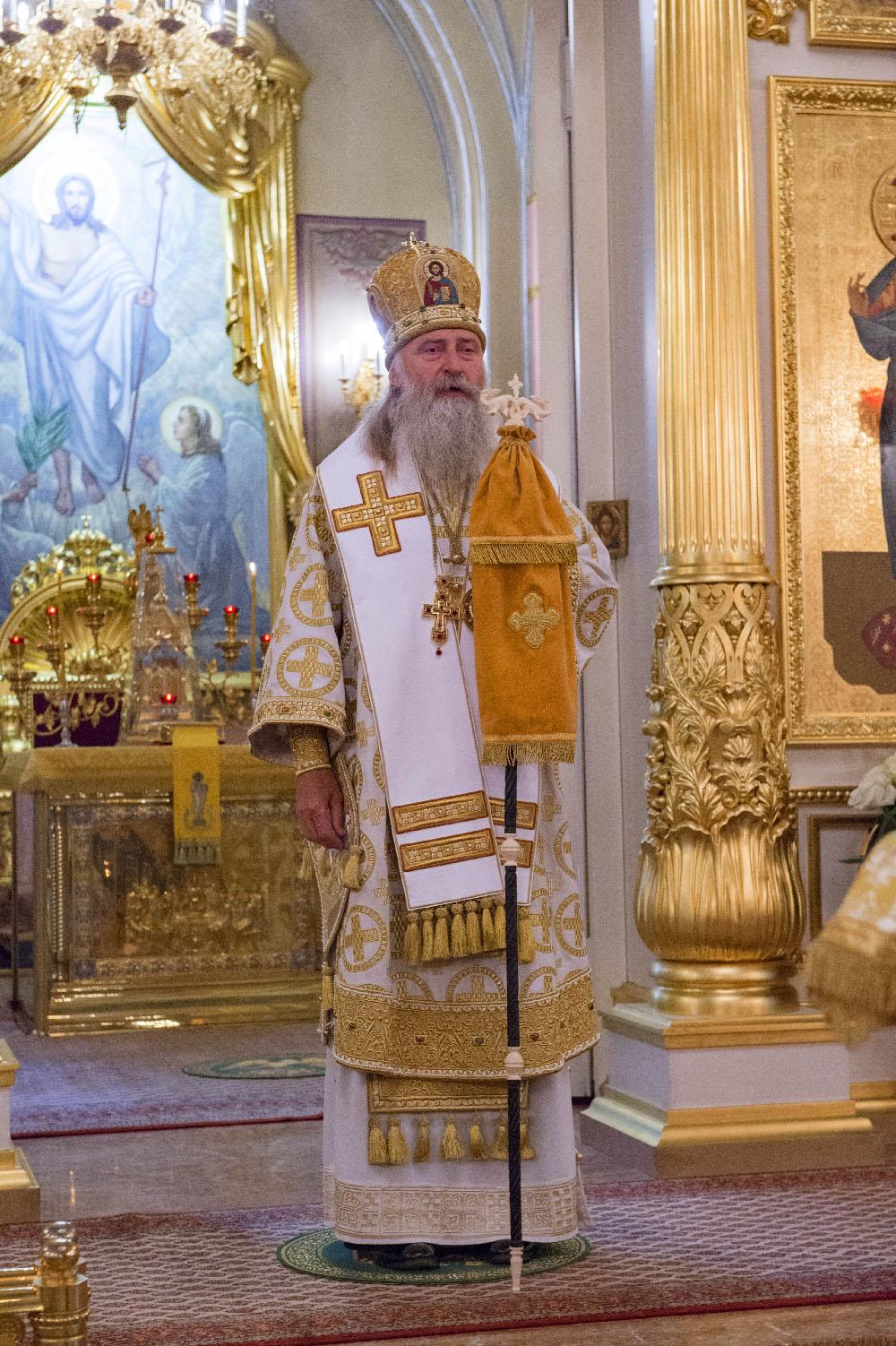 Архиепископ Феогност совершил Литургию в Покровском монастыре