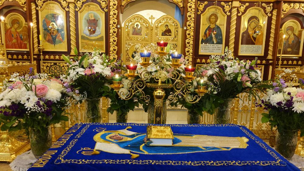 Успение Пресвятой Владычицы нашей Богородицы и Приснодевы Марии в селе Марково