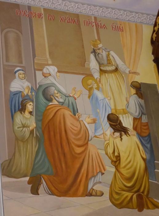 Праздник Введения во храм Пресвятой Богородицы на подворье Покровского монастыря в селе Марково