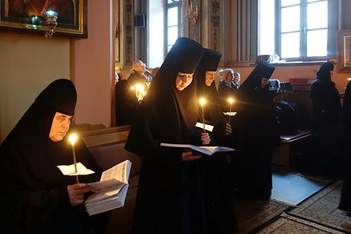 Четверг первой седмицы Великого Поста в Покровском монастыре