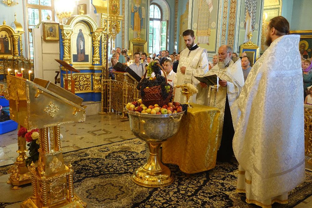 Праздник Преображения Господня в Троице - Лыково