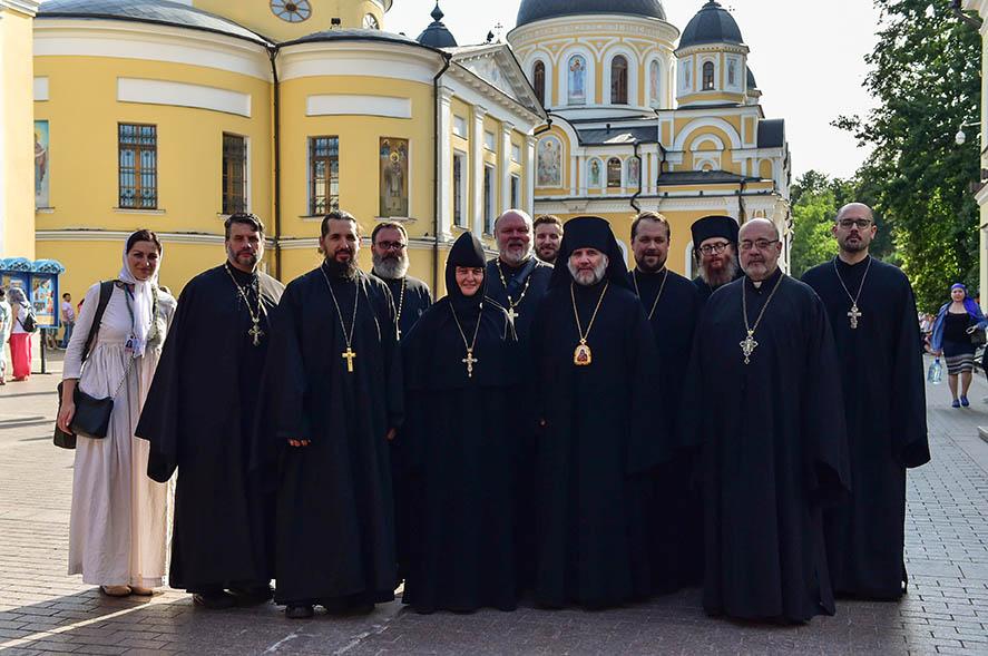 Визит участников летнего богословского института