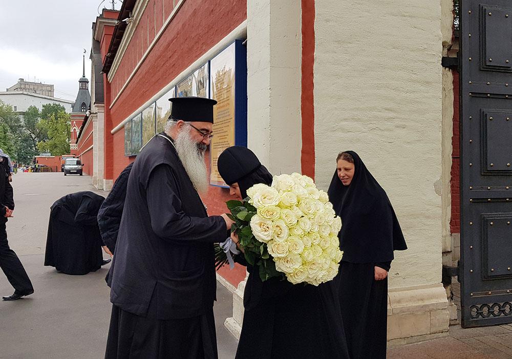 Митрополит Латакийский Афанасий посетил Покровский ставропигиальный женский монастырь
