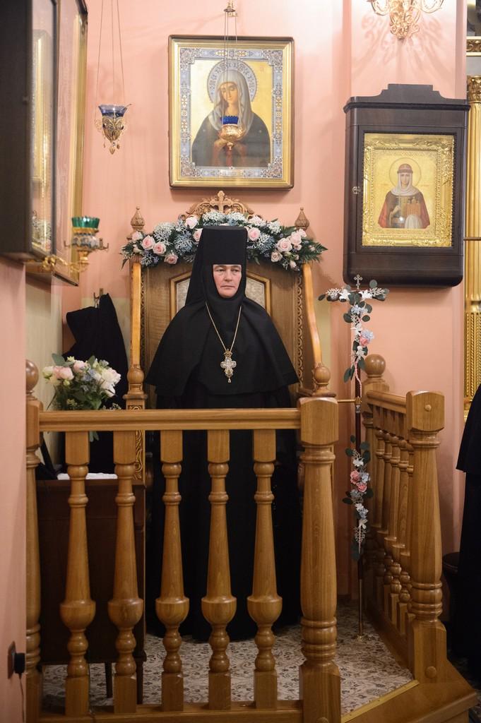 Всенощное бдение в день памяти святой блаженной царицы Феофании
