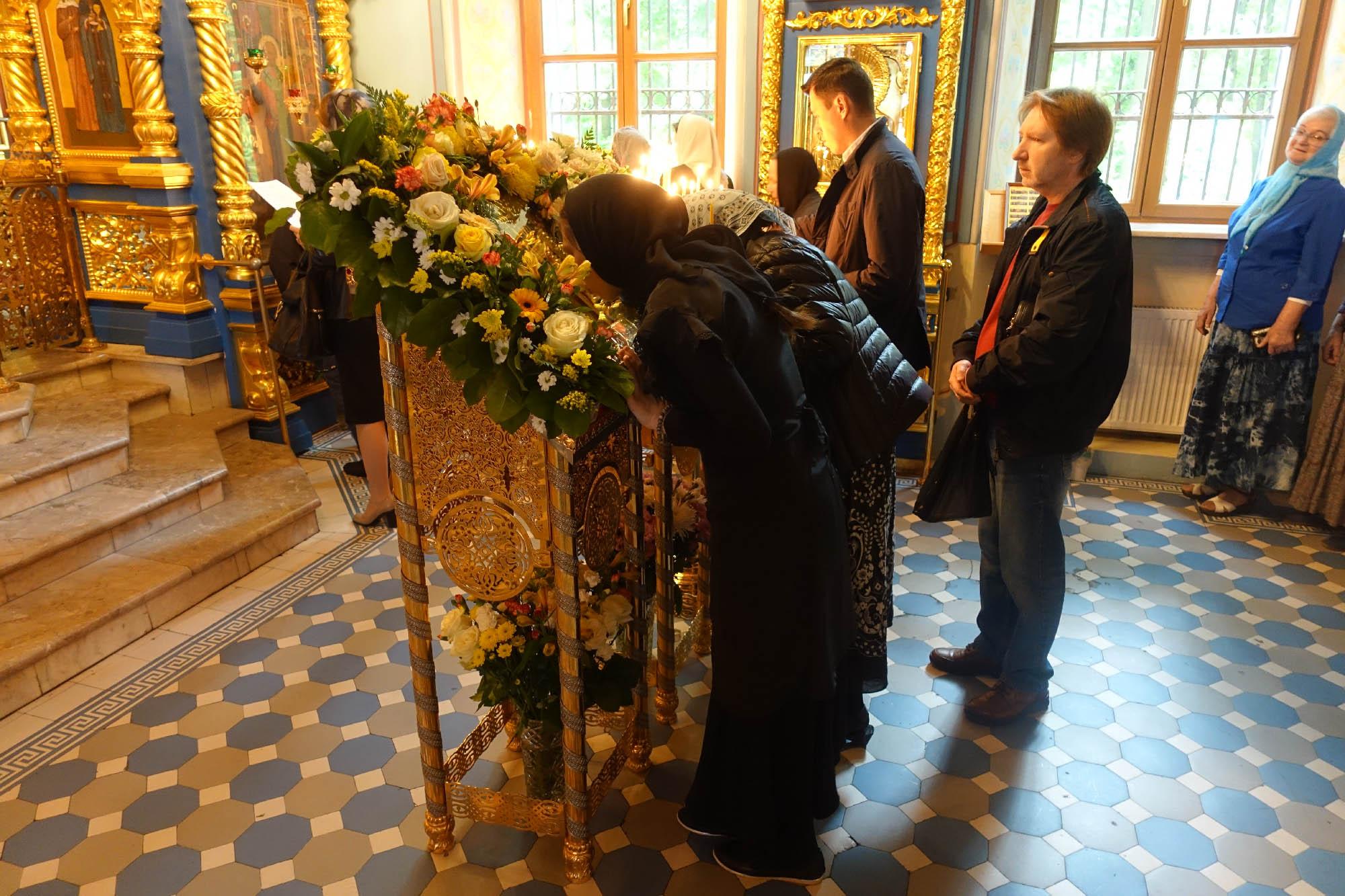 Престольный праздник святителя Николая в Троице-Лыково